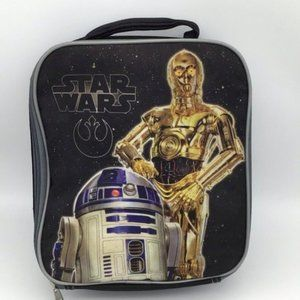 "Star Wars C3-PO and R2-D2 Lunch Bag 10""x81/2""x 3"""